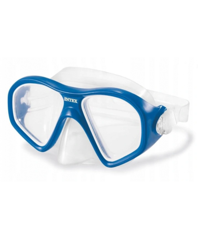 Intex 55977 okulary do pływania reef rider blue