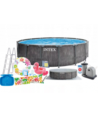 Intex 26744 15w1 basen stelażowy 549x122cm (set)